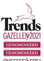 Genomineerd voor Trends Gazellen 2021